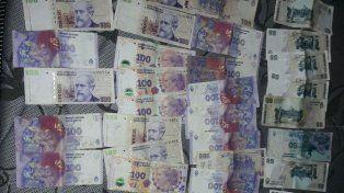 Sin justificación. El acusado no pudo precisar de dónde había obtenido el dinero. Foto: PER
