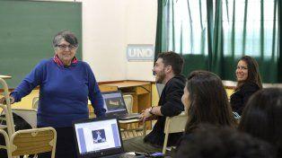 La doctora Haedo es la referente de Minería de Datos en el país. Foto UNO Mateo Oviedo.