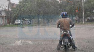Rige alerta meteorológico para la región, por lluvias y tormentas fuertes