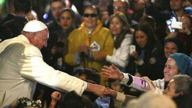 Fuerte operativo. En Chile habrá encuentros entre el Papa y los fieles
