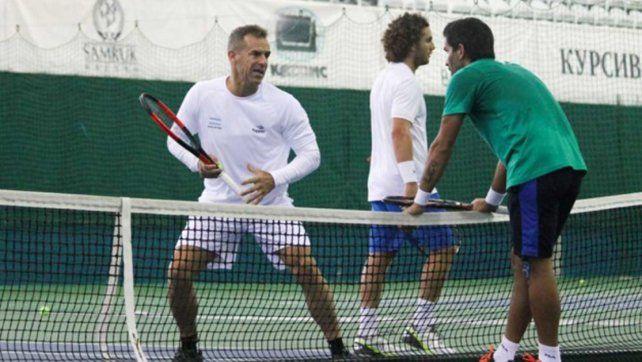 Argentina entrenó por primera vez de cara a la serie con Kasajistán