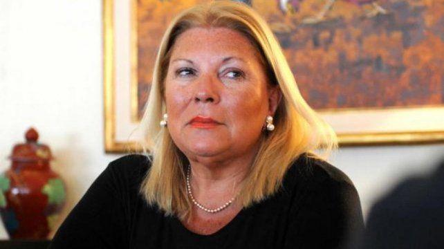 Carrió advirtió que quieren voltear a la Ministra Bullrich