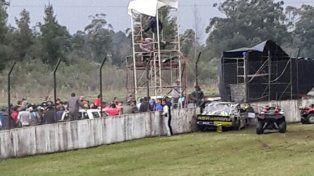 Las imágenes del tremendo choque del piloto del TC Pista en Concordia