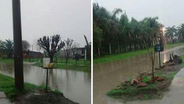 Mal tiempo. En dos días llovieron en la zona 55 mm. Tabossi