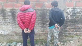 Unos gurises. Los detenidos ya contarían con antecedentes policiales. Foto: PER
