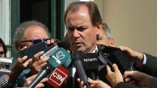 Gestiones. El gobernador habló con Garavano sobre la apertura de los juzgados federales.