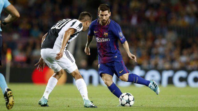 Doblete de Messi en la goleada del Barcelona ante Juventus