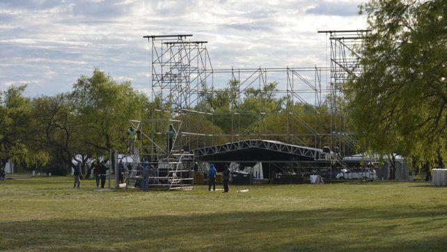 Preparativos. En el Valle de la Ensenada se realizará la 22ª edición del tradicional evento.