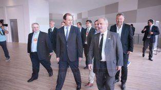 Bordet y Varisco firmaron un acuerdo tripartito para desarrollar el Polo Tecnológico