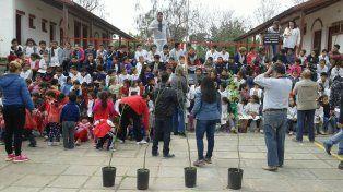 Echando raíces celebrará sus 100 años la escuela Maximio Victoria