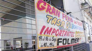 Folmer lanzó la Gran Feria del Usado