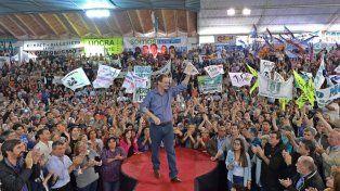 Gustavo Bordet unió al peronismo entrerriano en Villaguay