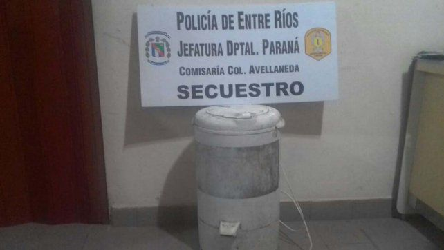 Recuperaron un secarropas robado en Colonia Avellaneda