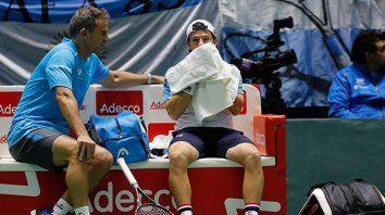 argentina perdio el repechaje con kazajistan y se fue al descenso en la davis