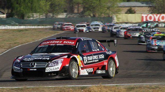 Canapino ganó las dos competencias del Top Race V6 en Roca