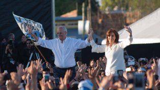 Cristina Kirchner relanzó su campaña con críticas al Gobierno y un fuerte apoyo a Taiana