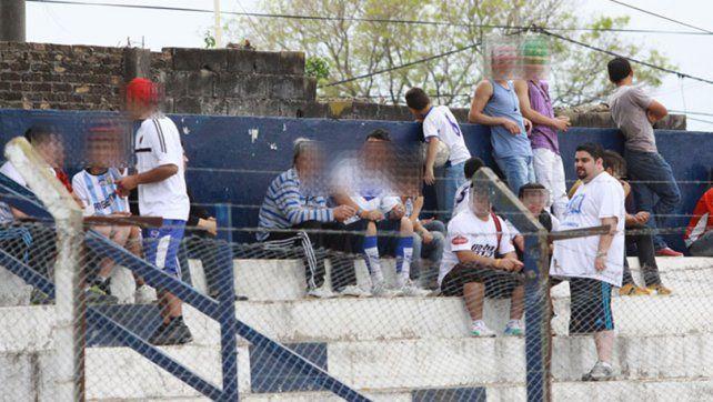 Su pasión. Castriogiovani estaba muy vinculado con la barra brava de Sportivo Urquiza.