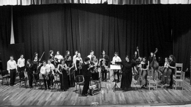 Formación. La orquesta está integrada por 22 estudiantes de entre 13 y 27 años.