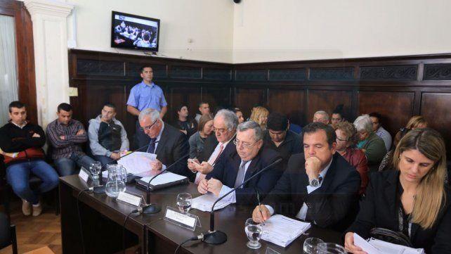 Los 15 acusados de integrar la banda narco del Gordo Nico, optaron por el silencio