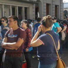 Agmer Paraná realiza asambleas y concentración en defensa de la escuela pública