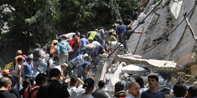 Devastador terremoto de 7.1 destruye edificios y paraliza a México