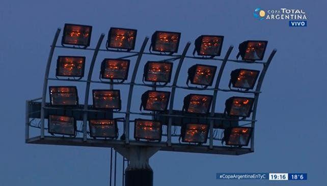 Atlanta y Pacífico, suspendido por falta de luz