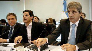 Dujovne, Laspina y Caputo, en la Comisión de Presupuesto.