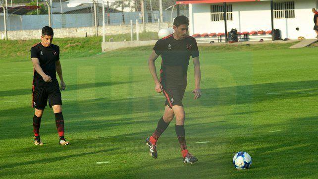 Rafa Márquez en la práctica de ayer. Tenemos que seguir mejorando