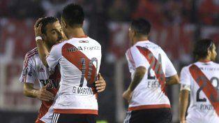 Histórica goleada de River para materse en las semifinales de la Libertadores