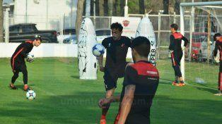Damián Lemos será el responsable de sostener el equilibrio entre líneas el Rojinegro.