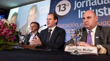 bordet: vamos a sostener las politicas que propendan a alentar al sector industrial
