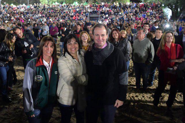 De fiesta para celebrar la puesta en valor del Parque Berduc