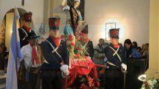 Festejo central. La procesión será a partir de las 17, previo a la celebración litúrgica.