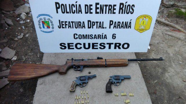 Estaban a los tiros en barrio Belgrano y los detuvieron