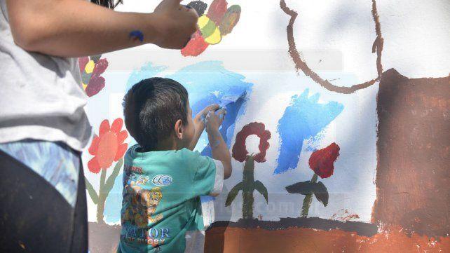 Con iniciativas, en Bajada Grande defienden los espacios colectivos