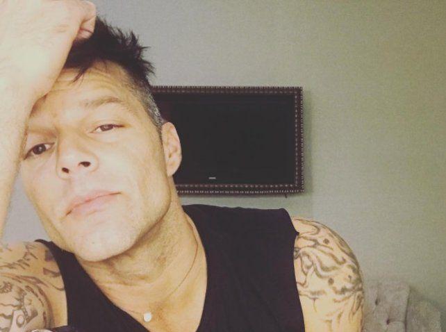 El peor momento de Ricky Martin