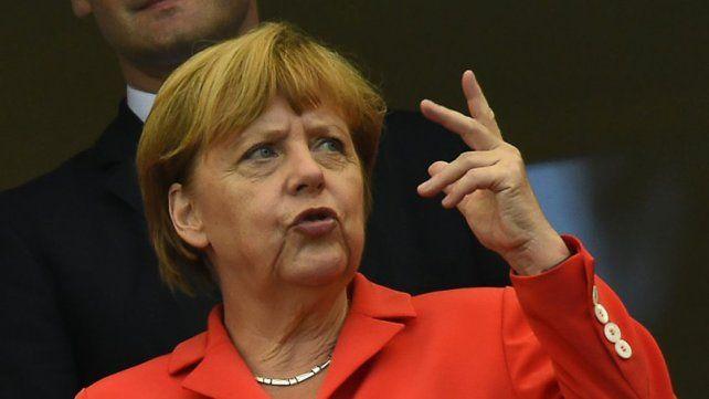 Cauta. Merkel festejó