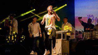 El Polaco cerró la fiesta de la Primavera y del Estudiante en Paraná ante una multitud