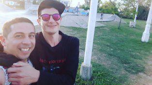 José y Bruno se reencontraron en el skatepark público de Paraná.