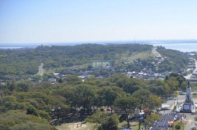 Las 100 hectáreas del Parque Nuevo de frente al río y 10 minutos del centro. Foto UNO Mateo Oviedo.