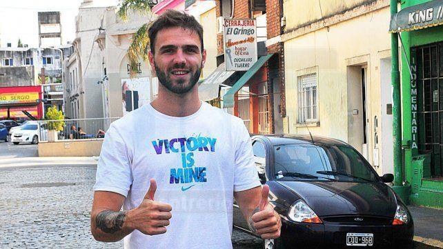El exjugador de Sionista tiene 24 años y viene de disputar cinco temporadas en la Liga Nacional A.