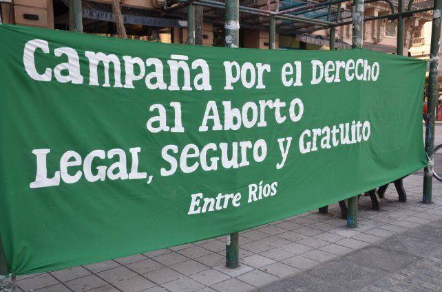 El jueves en Paraná habrá una concentración para pedir por el aborto ...