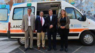 Cesión. Varisco recibió al viceministro de Salud de la Nación.