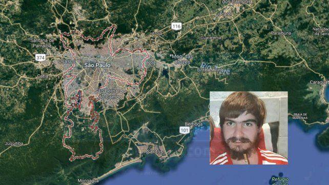 Habrían visto a José Moretti en Brasil