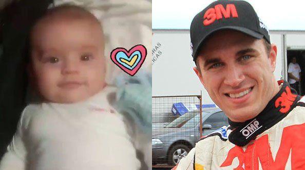 El tierno video del hijo de Mariano Werner en donde su bebé acelera