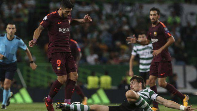 Barcelona venció por la mínima al Sporting
