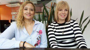 Noelia Cano y Gladys Taberna son parte de la organización.