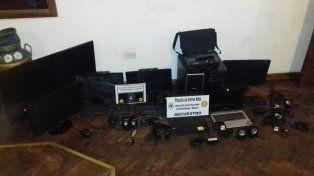 Recuperaron elementos robados en oficina de Comunicación del Concejo Deliberante