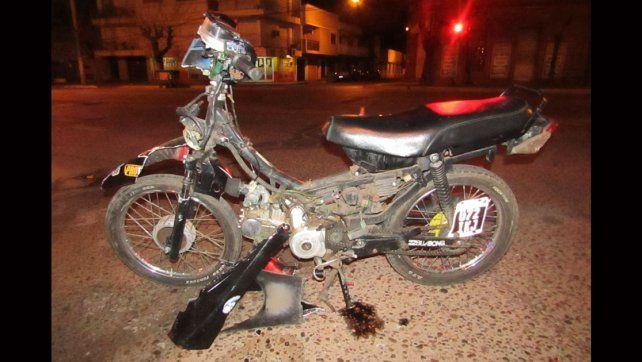 Murió el motociclista de 18 años que permanecía internado desde el sábado 16