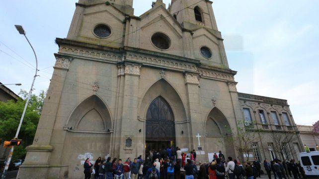 Historia. El templo de San Miguel inició su construcción en 1822.